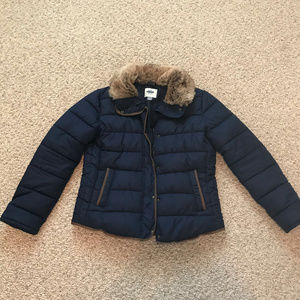 Old Navy Puffer Jacket with Fur